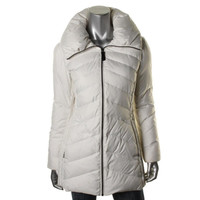 Marc New York Womens Mulberry Down Filled Long Sleeves Puffer Coat