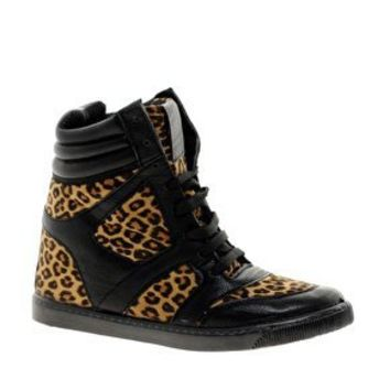 River Island Darice Wedge High Top Trainers at asos.com