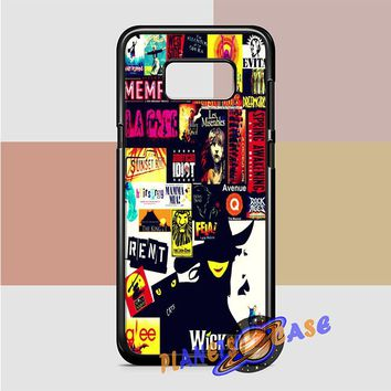 Broadway (collage 2) Samsung Galaxy Case