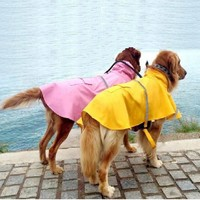 Smart Casual clothes pet dog raincoat