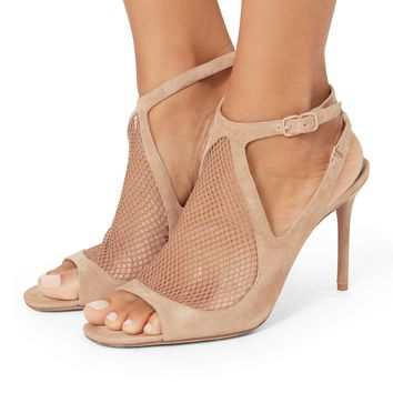 Piper Fishnet Sandals