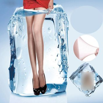 1Pcs Sexy Women's Tights Stockings Women Slim Seamless Stockings Summer Thin Long  Female Nylons Lady Transparent Silk Stockings