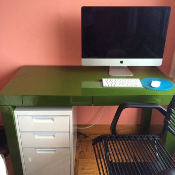 Parson's Desk with 2 Drawers