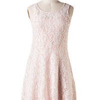 Blushing Belle Dress in Lace - Last Chance Item