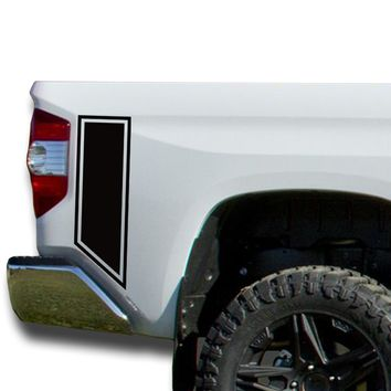 Bedside Decals Vinyl Sticker Decal: fits 2014-2018 Toyota Tundra
