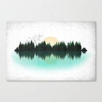 The Sounds of Nature Stretched Canvas by [ His Artwork ]