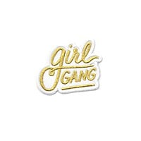 Girl Gang Patch - Gold