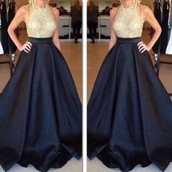 Bell Bottom Formal Maxi Skirt