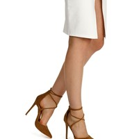 Tan Live Fancy Pointed Heels