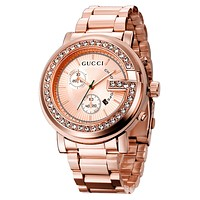 Perfect Gucci Ladies Men Fashion Quartz Watches Wrist Watch 45MM