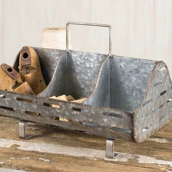Perforated Feed Trough Caddy