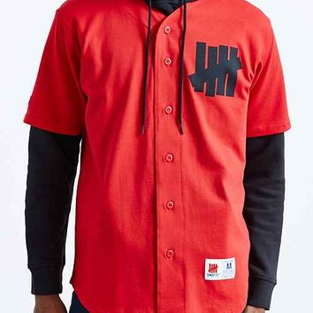 Undefeated Baseball Jersey- Red