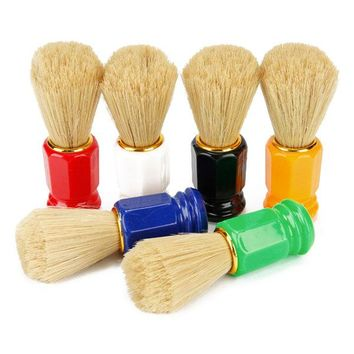 Bristles Beard Hair Brush Barber Salon Shaving Brushes Facial Beard Cleaning Appliance For Men