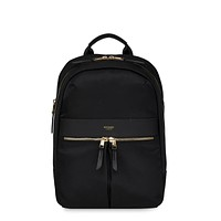 "Knomo Mini Beaufort Black 12"" Backpack"