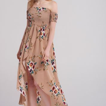 Camile Tulip Print Dress Discover the latest fashion trends online at storets.com