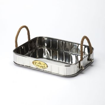 Butler Santa Rosa Rectangular Metal Serving Tray