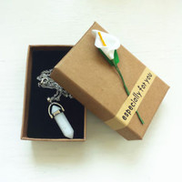 Healing Prism Pendant Necklace Beutiful Birthday Gifts for Friends