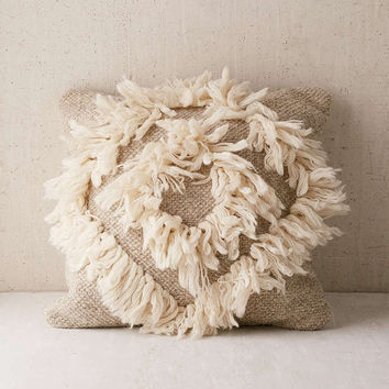 Diamond Shag Pillow - Urban Outfitters