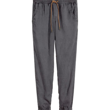 Lyocell joggers - from H&M