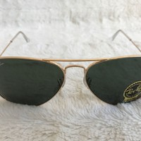 Cheap Ray-Ban Aviator RB3025 Large Metal Sunglasses In Box With Case outlet