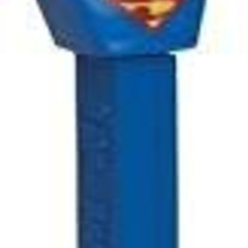 DC COMICS SUPERMAN PEZ DISPENSER and CANDY