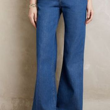 MiH Loon Flare Jeans in 74 Blue Size: