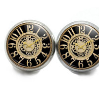 Clock Stud Earrings,  Earrings For Women