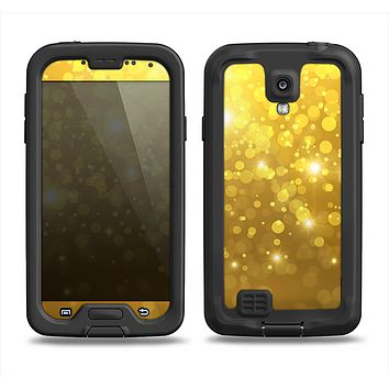 The Orbs of Gold Light Samsung Galaxy S4 LifeProof Nuud Case Skin Set