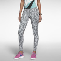 Nike Allover Print Women's Leggings - Medium Base Grey