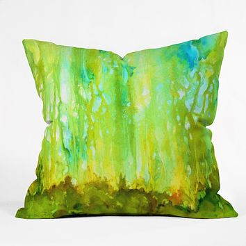 Rosie Brown Forest Glow Throw Pillow