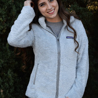Patagonia Women's Los Gatos Fleece Jacket- Pebble Grey