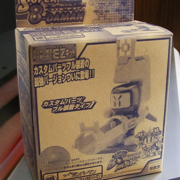 Takara 1996 Hudson Soft B-Daman Bomberman Limited Model Kit Action Figure