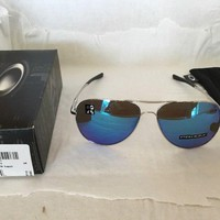 Oakley Sunglasses Chrome With Blue Lens OO4119-1060 69-15 141