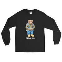 Vintage Culture NYC Think BIG Longsleeve Tees