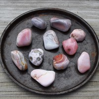 PINK BOTSWANA New Beginnings Stone - Cope With Big Changes