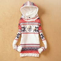 Thicker fleece sweater Korean version of Women  JCHBD