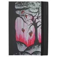 High and Dry Hearts Trees Goth Love Original Art iPad Pro Case