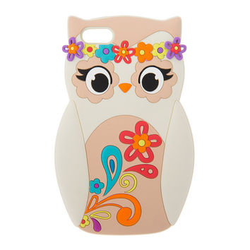 3D Silicone Festival Owl Cover for iPhone 5 and 5s