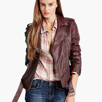 Lucky Brand Major Moto Womens - Burnt Russet