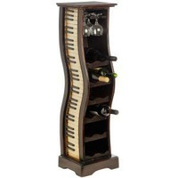 12 Bottle Piano Style Wine Rack
