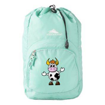 funny cow backpack