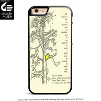 winnie the pooh book and tree Case for iPhone 4s 5s 5c 6s 6 Plus Case, iPod Case, iPad Case, Samsung Case, HTC Case, Xperia Case, Nexus Case, LG cases