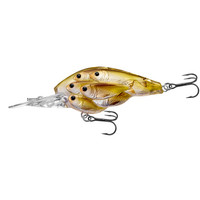 Yearling BB Crankbait,pearl/olive shad,#4