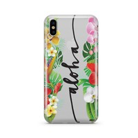 Aloha - Clear TPU Case Cover