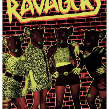 RAVAGERS .- JUST ANOTHER RAT - POSTER