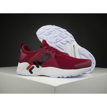 Fila 1751 Wine Red Running Shoes Size 36 44.5 | Best Deal Online