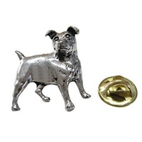 Jack Russel Dog Lapel Pin [Jewelry]