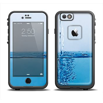 The Running Water Spicket Skin Set for the Apple iPhone 6 LifeProof Fre Case