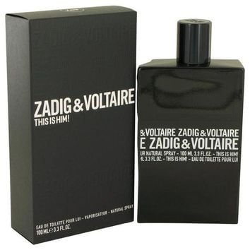 VONL8T This is Him by Zadig & Voltaire Eau De Toilette Spray 3.4 oz