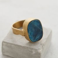 Blue Apatite Ring by Roost Blue